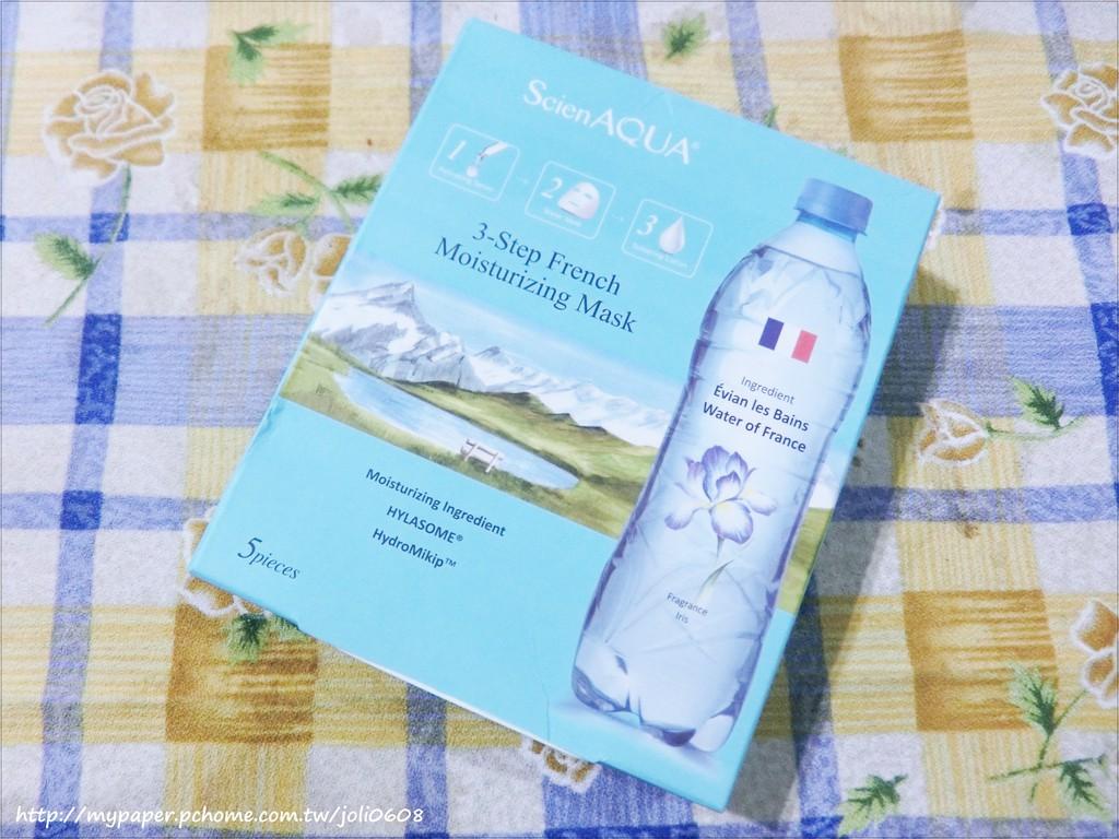 【ScienAQUA科水】法國保濕三部曲面膜~敷上世界好...