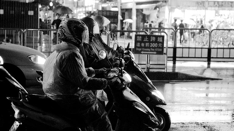 灰階.雨夜公館