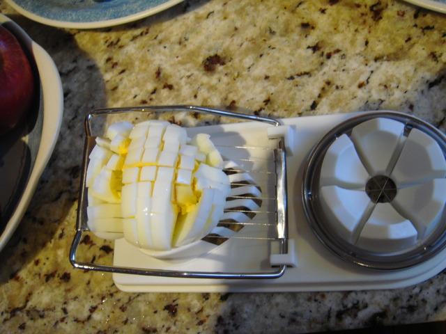 我的私人廚房 - 馬鈴薯蘋果明蝦沙拉 (保証一定肥 ...