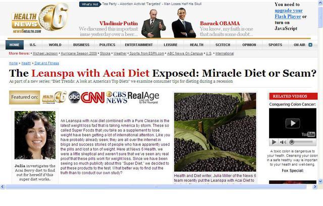 4個禮拜瘦11公斤!巴西莓 (Acai) 真的這麼好?@iNutrA營養教室|PChome新聞台