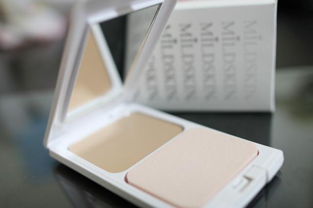 【試用】MILDSKIN淨白親水粉凝霜.粉感霧面奢華妝容有它就搞定