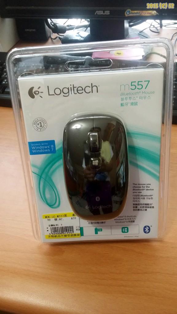 Logitech M557 藍芽滑鼠@搖堯ㄉ部落格|PChome 個人新聞台