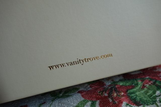讓人收到會感覺心滿意足的VanityTrove Box