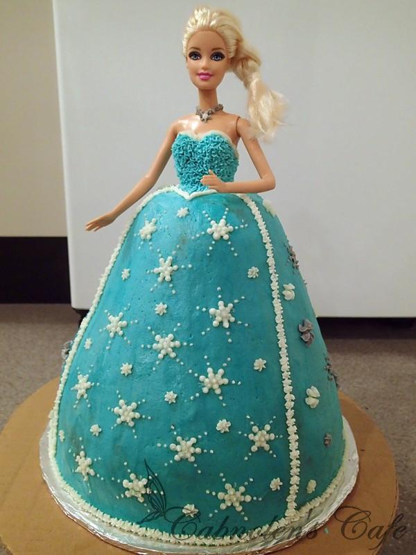 冰雪奇緣艾莉莎公主蛋糕@cabnolen 隨手隨心札記|pchome 個人新聞台