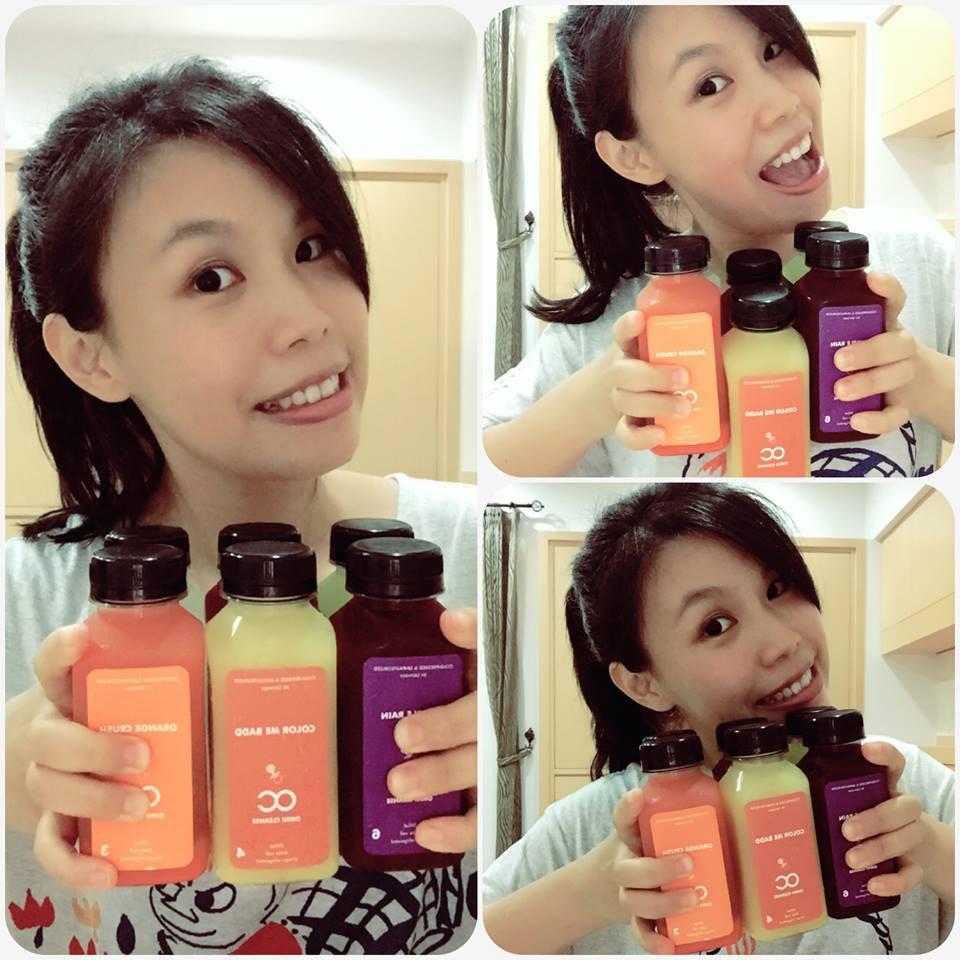 【試用】五顏六色的Baby OC新鮮冷壓蔬果汁~均衡營養好味...